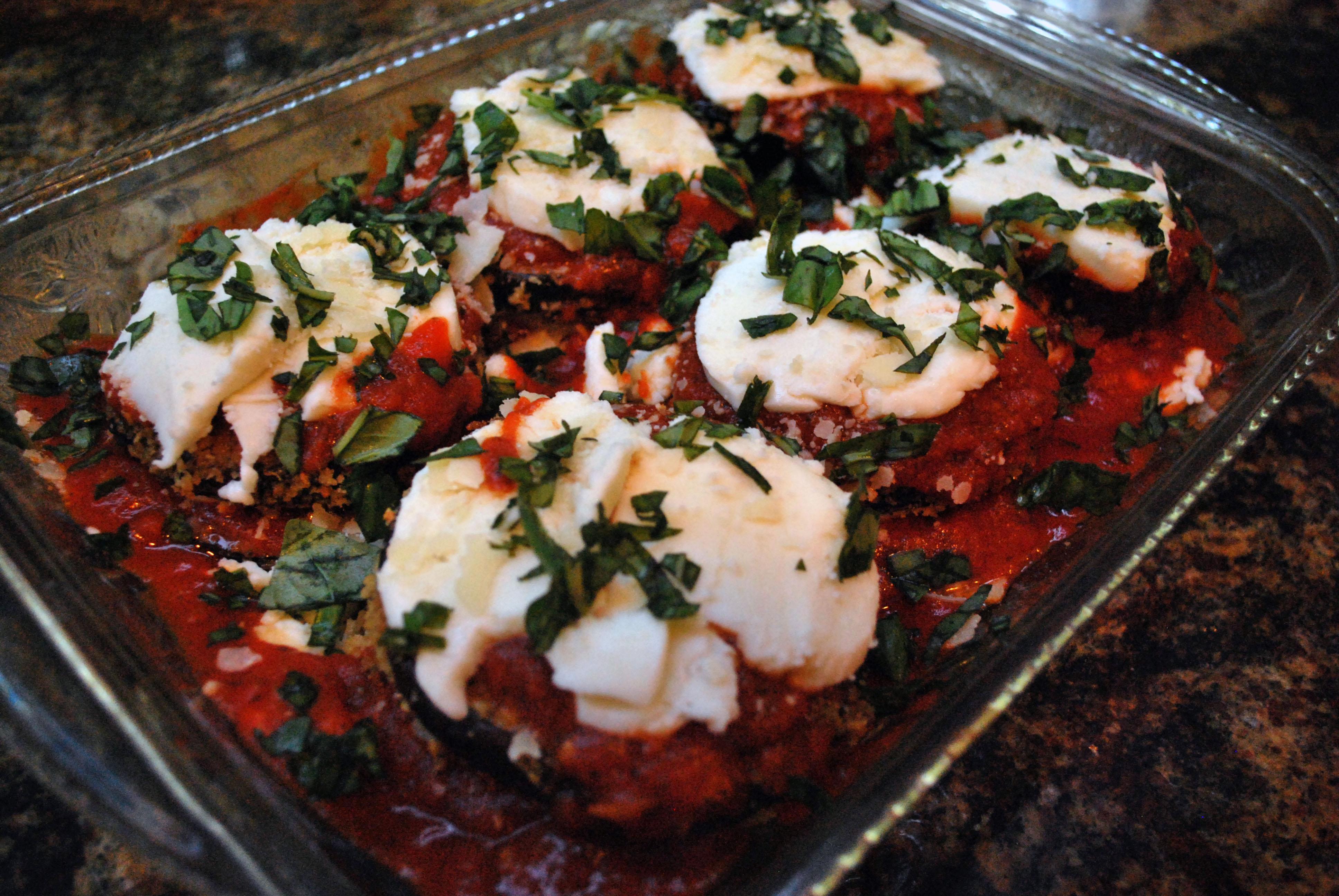 Baked Eggplant Parmesan - Valerie's Kitchen
