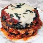 Baked Eggplant Parmesan 1