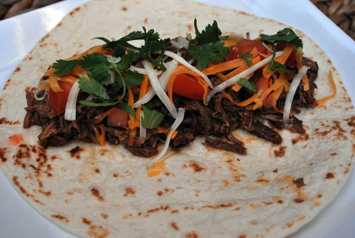 2011-10-21 Shredded Beef Taco 001