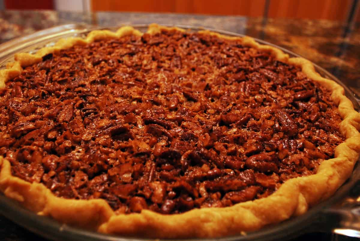 Pecan pie is a must at the holidays. Add a little bourbon and you've ...