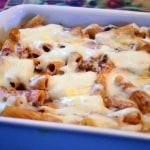 creamy baked rigatoni