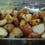 Lemon and Garlic Roasted Potatoes 2012-08-11 041-2