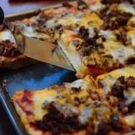 Cheeseburger Pan Pizza