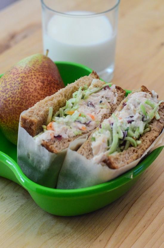 Crunchy Sweet Chicken Salad Sandwiches