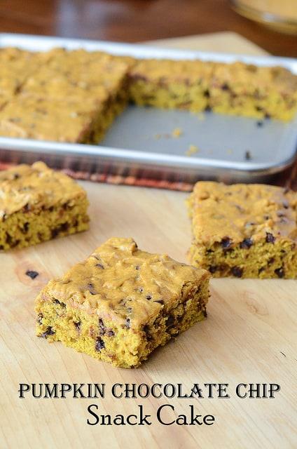 Chocolate Chip Snack Cake Recipe — Dishmaps
