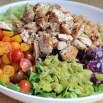 Meditteranean Chicken Chopped  Salad - featured
