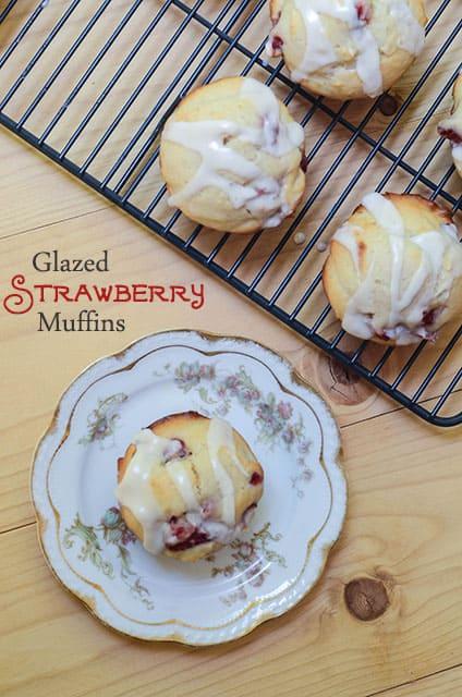 Glazed Strawberry Muffins 185 (titled)