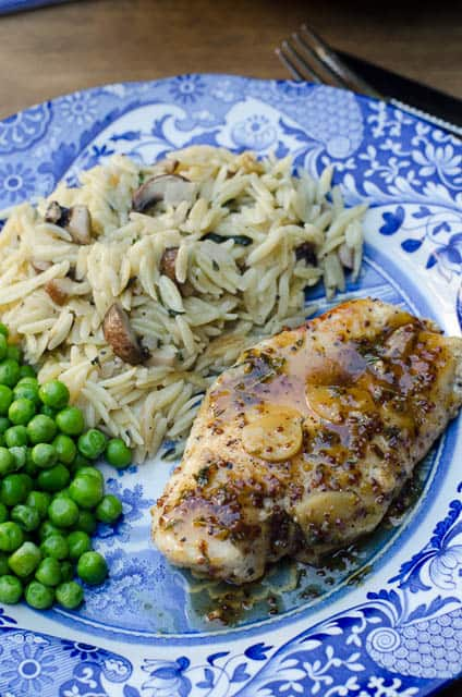 Maple-Mustard Glazed Chicken Recipe — Dishmaps