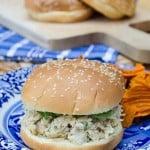 Slow Cooker Chicken Caesar Sandwiches-078 (titled)