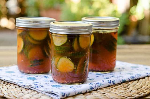 Sriracha Fridge Pickles Recipe — Dishmaps