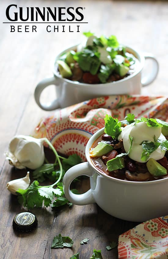 Guinness Beer Chili - In the Kitchen with The Blond Cook - From ...
