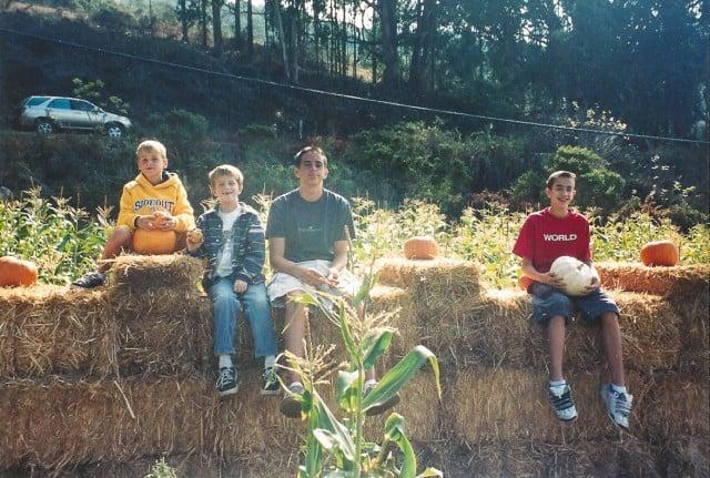 Boys on Halloween-20141028