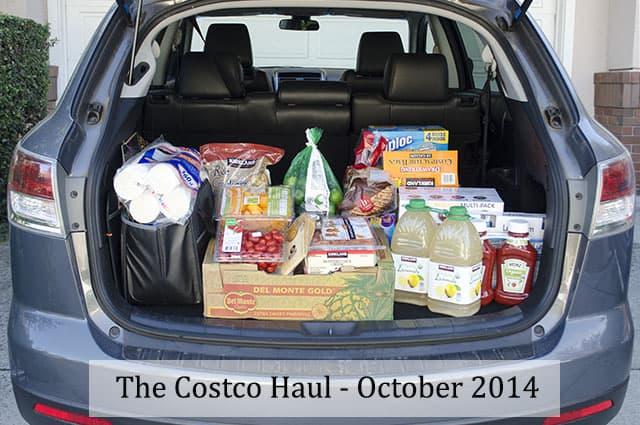 The Costco Haul – October 2014