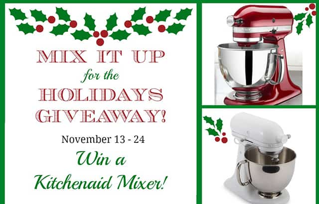 Mix it Up for the Holidays Giveaway!!!