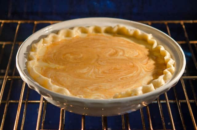 Pumpkin Hazelnut Pie with Mascarpone