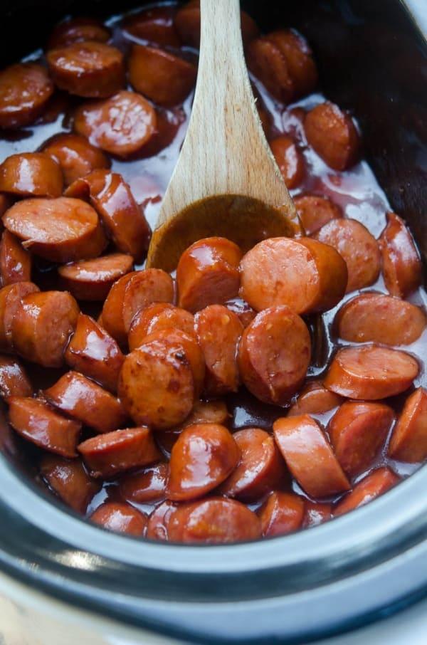 Crock-Pot BBQ Cocktail Sausage