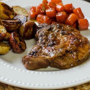 Skillet Braised Pork Chops