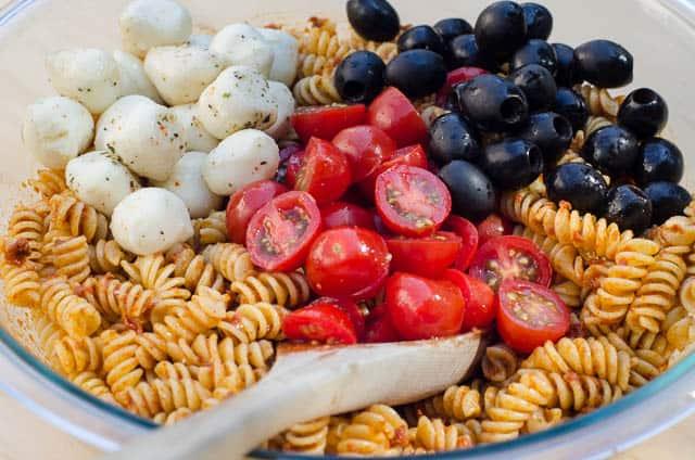Sun-Dried Tomato Pasta Salad - From Valerie's Kitchen