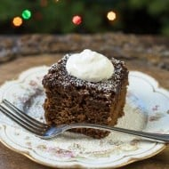 Mom's Old-Fashioned Gingerbread