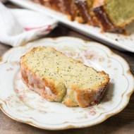 Lemon Yogurt Poppy Seed Bread