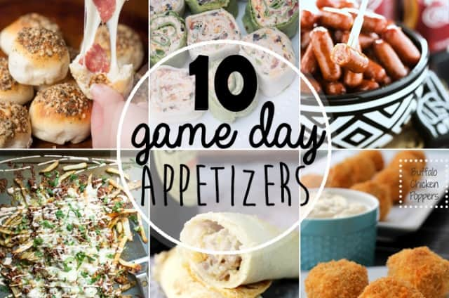 10 Awesome Game Day Appetizers
