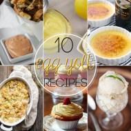 10 Great Recipes for Leftover Egg Yolks