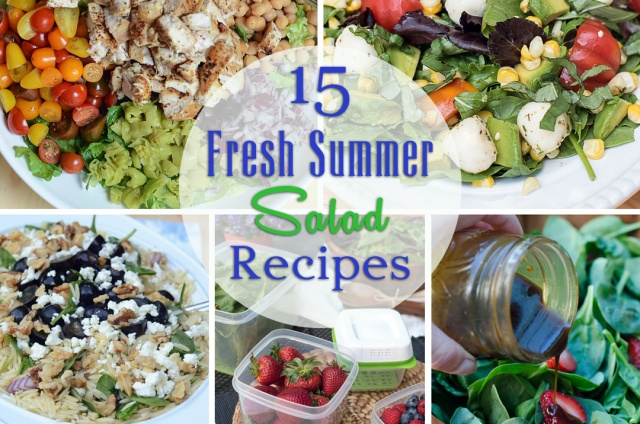 15 Fresh Summer Salad Recipes