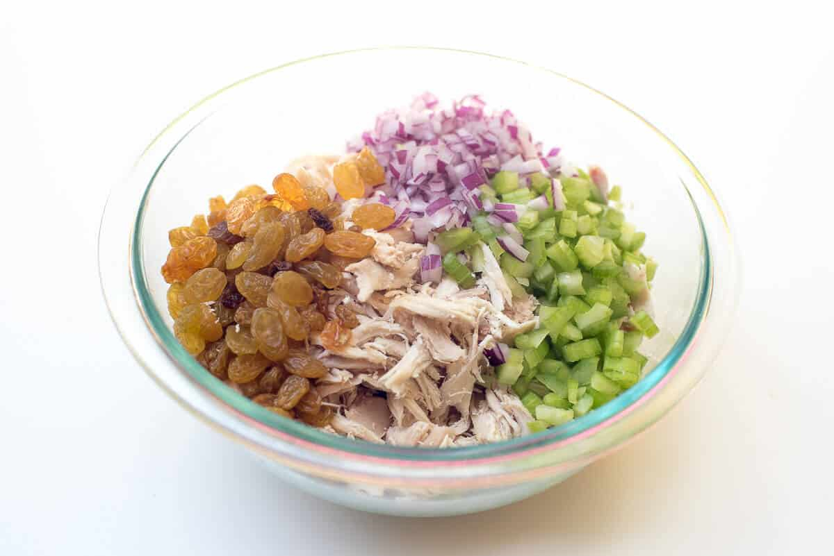Chicken Curry Salad Sandwiches