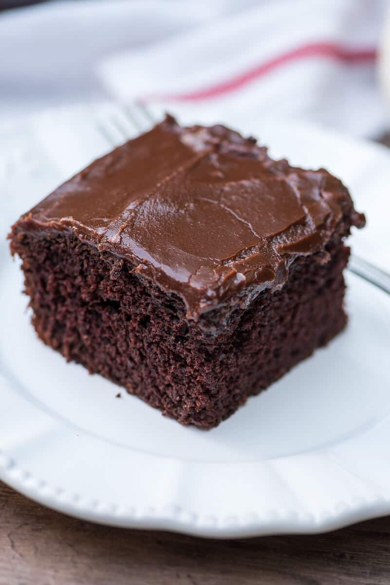 One Bowl Cake Chocolate