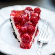Easy Cherry Cheesecake Pie