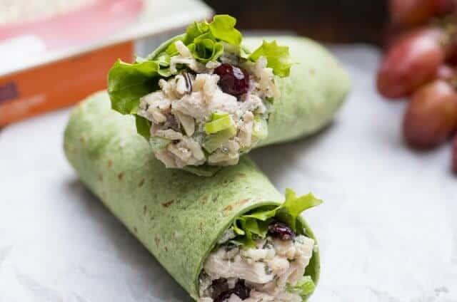 Long Grain and Wild Rice Chicken Salad