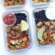 Tex-Mex Chicken Meal Prep Bowls