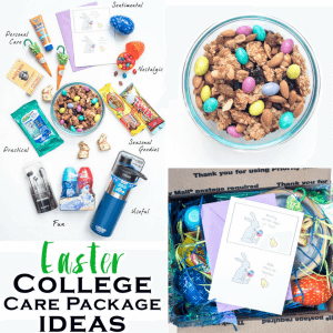 College Care Package Ideas for Easter