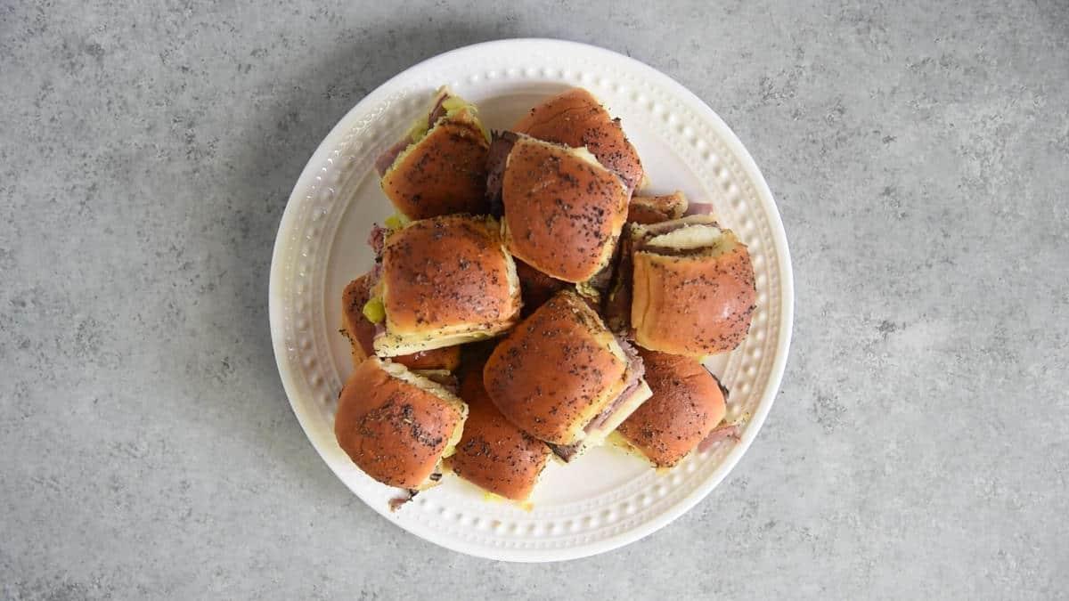 Italian Roast Beef Sliders