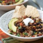 Southwest Turkey Taco Bowls