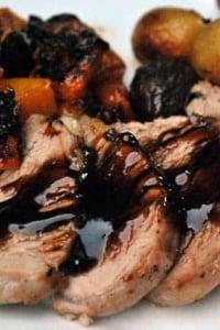 Roasted Pork Tenderloin with Balsamic Glaze