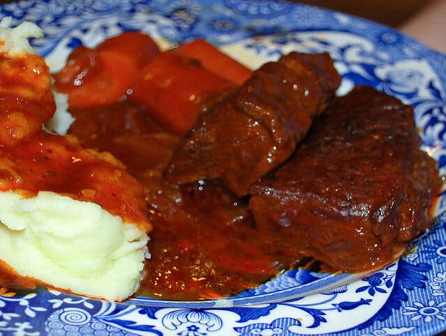 Barbecue Style Braised Short Ribs