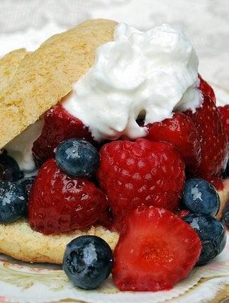 Mixed Berry Shortcakes