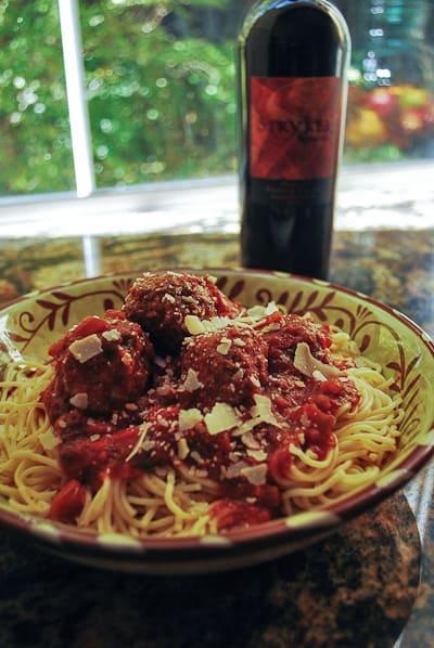 Spaghetti And Meatballs Valerie S Kitchen