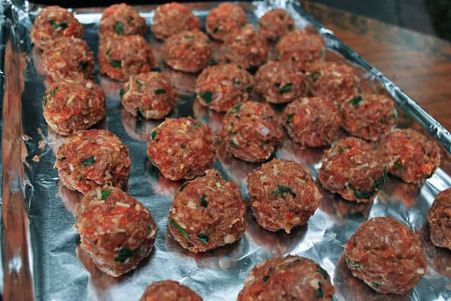 Spaghetti and Meatballs - Meatballs