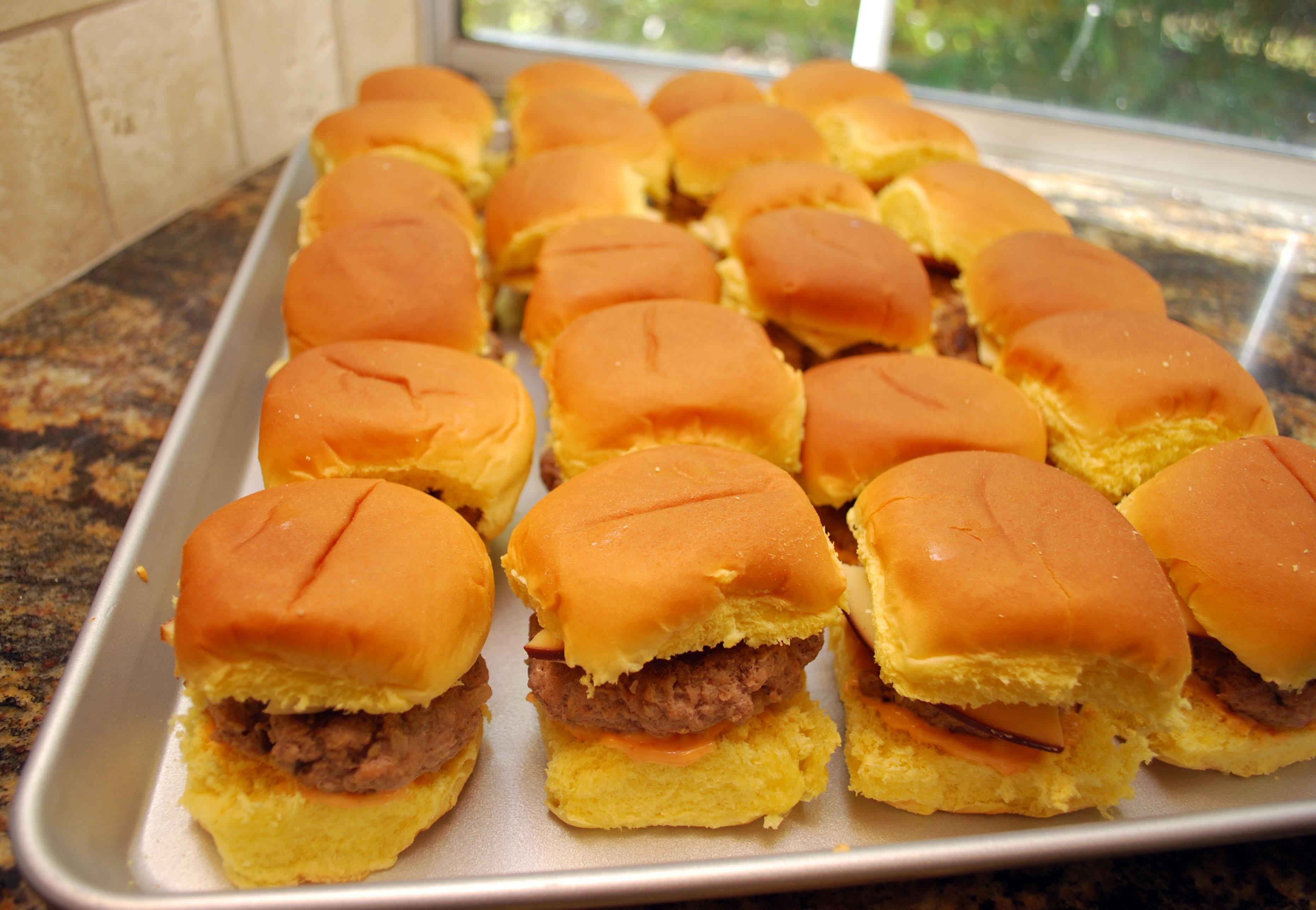 Turkey Burger Sliders - Valerie's Kitchen