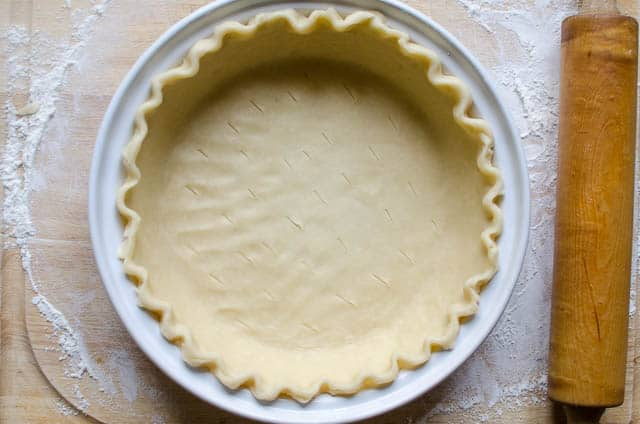 Basic Pie Crust (Food Processor Method) | From Valerie's Kitchen