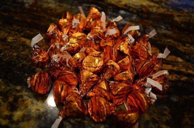 Caramel Filled Chocolate Cookies