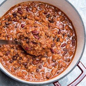 A pot of Chili.