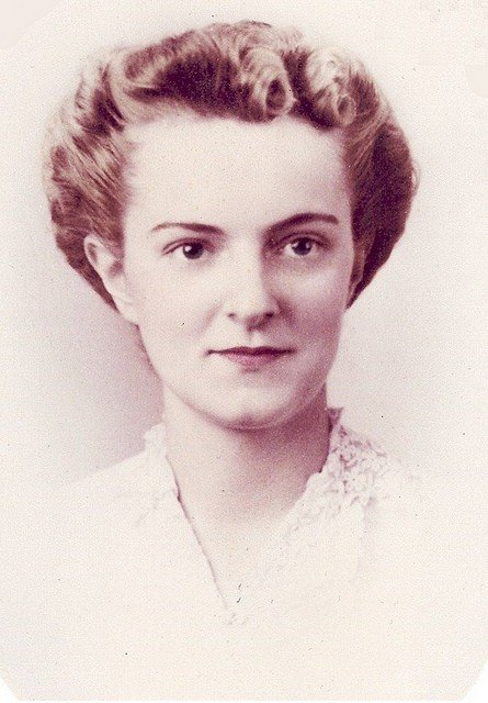 An old photograph of my mother.