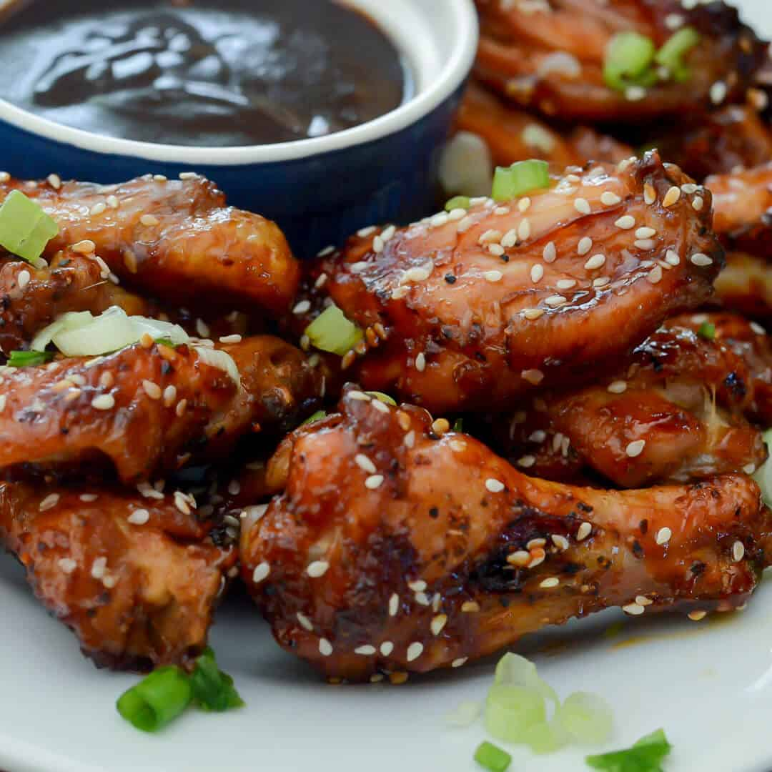 Sticky Baked Asian Chicken Wings