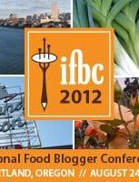 The IFBC 2012 logo.