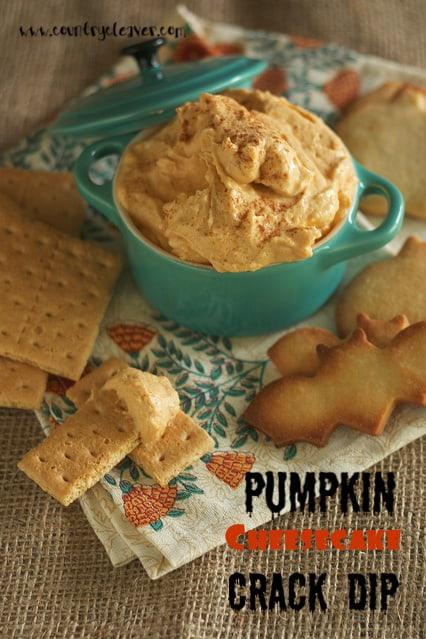Pumpkin Cheesecake Crack Dip.