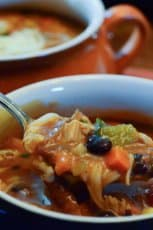 Tex Mex Turkey Soup