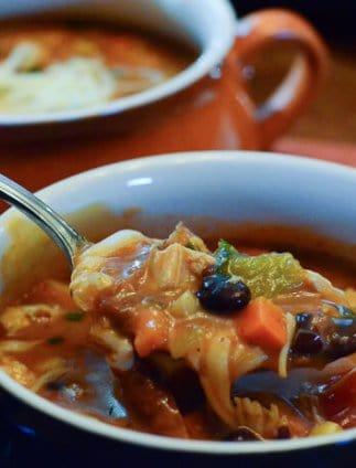 Tex Mex Turkey Soup